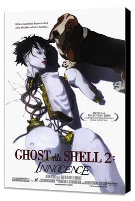 Ghost in the Shell 2: Innocence - 27 x 40 Movie Poster - Style A - Museum Wrapped Canvas