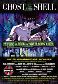 Ghost in the Shell - 43 x 62 Movie Poster - Bus Shelter Style A