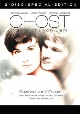 Ghost - 11 x 17 Movie Poster - German Style A