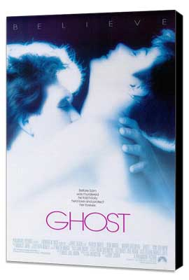 Ghost - 27 x 40 Movie Poster - Style A - Museum Wrapped Canvas