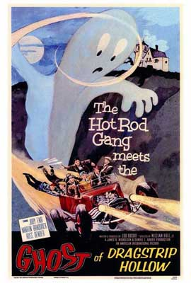 Ghost of Dragstrip Hollow - 27 x 40 Movie Poster