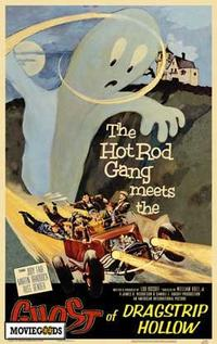 Ghost of Dragstrip Hollow - 43 x 62 Movie Poster - Bus Shelter Style A