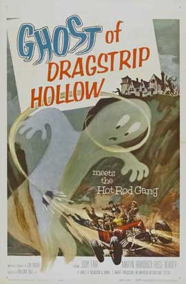Ghost of Dragstrip Hollow - 11 x 17 Movie Poster - Style B