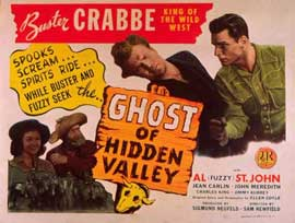 Ghost of Hidden Valley - 11 x 14 Movie Poster - Style C