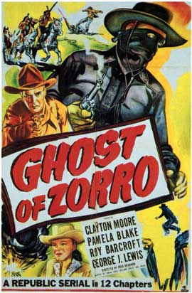 Ghost of Zorro - 11 x 17 Movie Poster - Style A