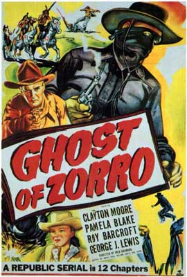 Ghost of Zorro - 27 x 40 Movie Poster - Style A