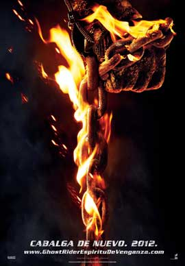 Ghost Rider: Spirit of Vengeance - 11 x 17 Movie Poster - Spanish Style A