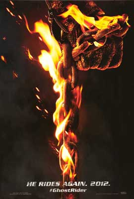 Ghost Rider: Spirit of Vengeance - 11 x 17 Movie Poster - Style A