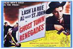 Ghost Town Renegades - 11 x 17 Movie Poster - Style A