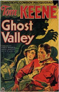 Ghost Valley - 43 x 62 Movie Poster - Bus Shelter Style A