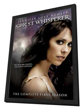 Ghost Whisperer - 11 x 17 Movie Poster - Style A - in Deluxe Wood Frame