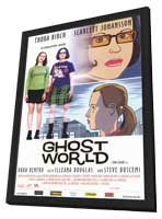 Ghost World - 11 x 17 Movie Poster - UK Style A - in Deluxe Wood Frame