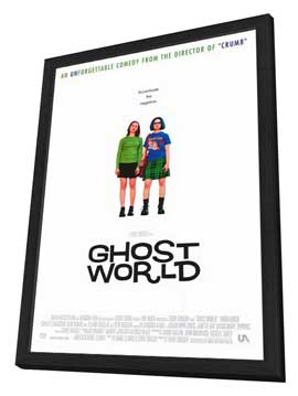 Ghost World - 27 x 40 Movie Poster - Style A - in Deluxe Wood Frame