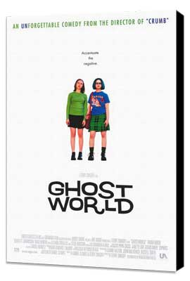 Ghost World - 27 x 40 Movie Poster - Style A - Museum Wrapped Canvas