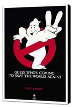 Ghostbusters 2 - 27 x 40 Movie Poster - Style B - Museum Wrapped Canvas