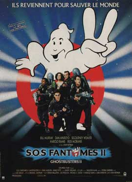Ghostbusters 2 - 11 x 17 Movie Poster - French Style A