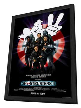 Ghostbusters 2 - 11 x 17 Movie Poster - Style A - in Deluxe Wood Frame