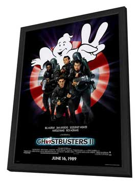 Ghostbusters 2 - 27 x 40 Movie Poster - Style A - in Deluxe Wood Frame