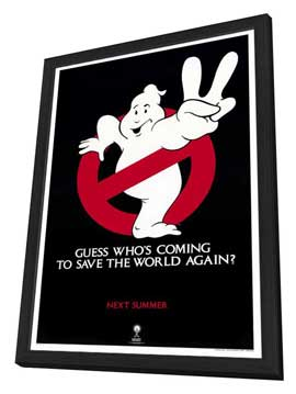 Ghostbusters 2 - 27 x 40 Movie Poster - Style B - in Deluxe Wood Frame