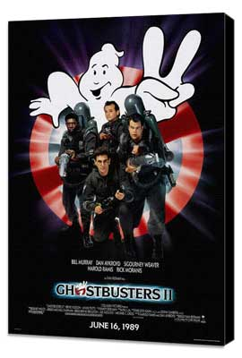 Ghostbusters 2 - 27 x 40 Movie Poster - Style A - Museum Wrapped Canvas