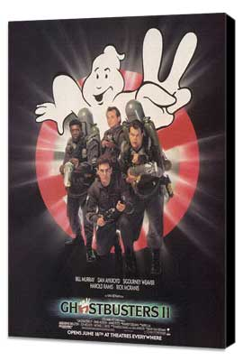 Ghostbusters 2 - 27 x 40 Movie Poster - Style C - Museum Wrapped Canvas