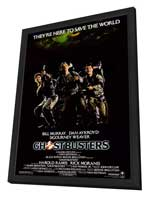 Ghostbusters - 27 x 40 Movie Poster - Style A - in Deluxe Wood Frame