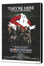 Ghostbusters - 11 x 17 Movie Poster - Style E - Museum Wrapped Canvas