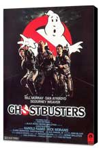 Ghostbusters - 11 x 17 Movie Poster - Style G - Museum Wrapped Canvas