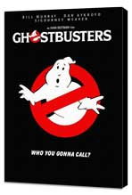 Ghostbusters - 11 x 17 Movie Poster - Style H - Museum Wrapped Canvas