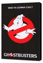 Ghostbusters - 27 x 40 Movie Poster - Style C - Museum Wrapped Canvas
