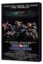 Ghostbusters - 14 x 36 Movie Poster - Insert Style A - Museum Wrapped Canvas