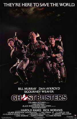 Ghostbusters - 11 x 17 Movie Poster - Style A