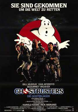 Ghostbusters - 11 x 17 Movie Poster - German Style A