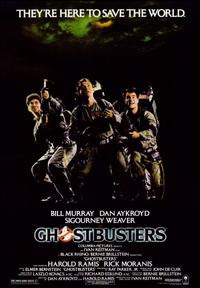 Ghostbusters - 43 x 62 Movie Poster - Bus Shelter Style A