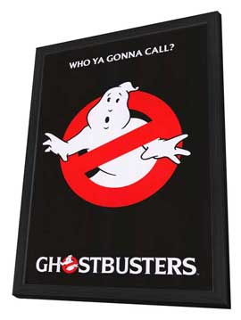 Ghostbusters - 27 x 40 Movie Poster - Style C - in Deluxe Wood Frame