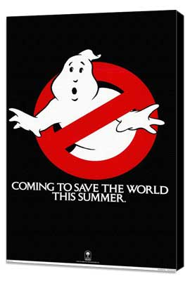 Ghostbusters - 11 x 17 Movie Poster - Style D - Museum Wrapped Canvas