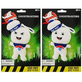 Ghostbusters - Stay Puft Man Mini Singing Plush Set