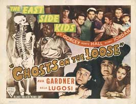 Ghosts on the Loose - 22 x 28 Movie Poster - Half Sheet Style A