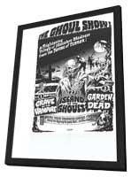 Ghoul Show - 27 x 40 Movie Poster - Style A - in Deluxe Wood Frame