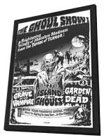 Ghoul Show - 11 x 17 Movie Poster - Style A - in Deluxe Wood Frame