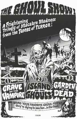 Ghoul Show - 11 x 17 Movie Poster - Style A