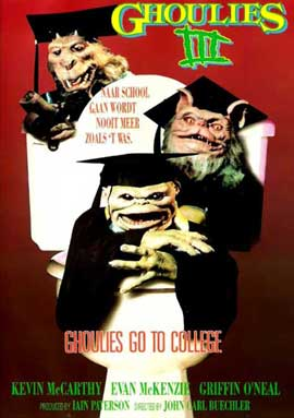 Ghoulies III: Ghoulies Go to College - 11 x 17 Movie Poster - Style A