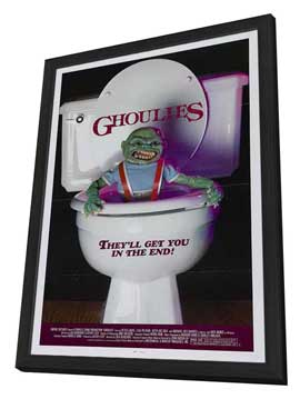 Ghoulies - 27 x 40 Movie Poster - Style A - in Deluxe Wood Frame