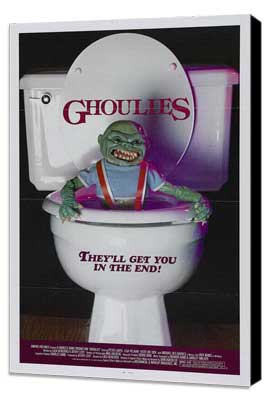 Ghoulies - 27 x 40 Movie Poster - Style A - Museum Wrapped Canvas