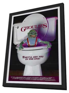 Ghoulies - 11 x 17 Movie Poster - Style A - in Deluxe Wood Frame