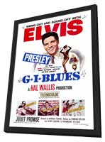 G.I. Blues - 27 x 40 Movie Poster - Style A - in Deluxe Wood Frame
