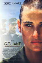 G.I. Jane - 27 x 40 Movie Poster - Style A
