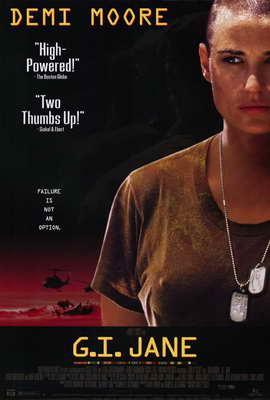 G.I. Jane - 27 x 40 Movie Poster - Style B