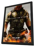 G.I. Joe: Retaliation - 11 x 17 Movie Poster - Style A - in Deluxe Wood Frame