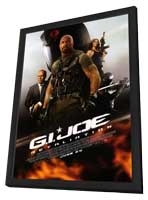 G.I. Joe: Retaliation - 27 x 40 Movie Poster - Style B - in Deluxe Wood Frame